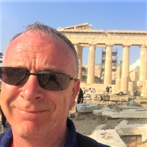 Neil in Athens