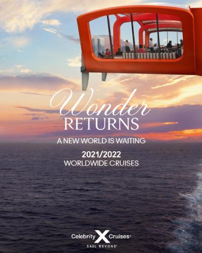 Digital Brochure for Celebrity Cruises