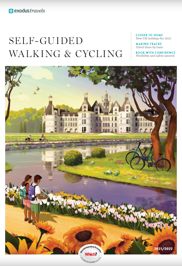Digital Brochure for Exodus Travels Self-Guided Walking and Cycling 2021/2022