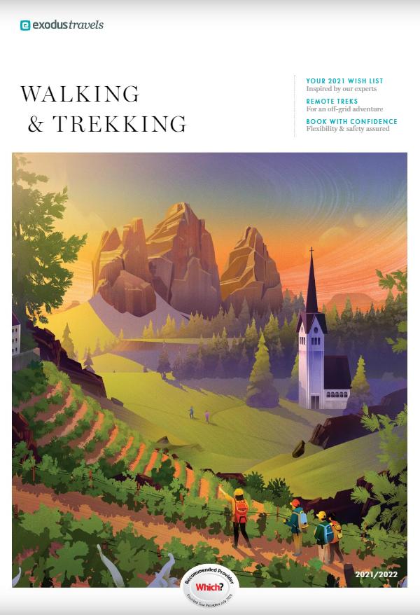 Digital Brochure for Exodus Travels Walking and Trekking