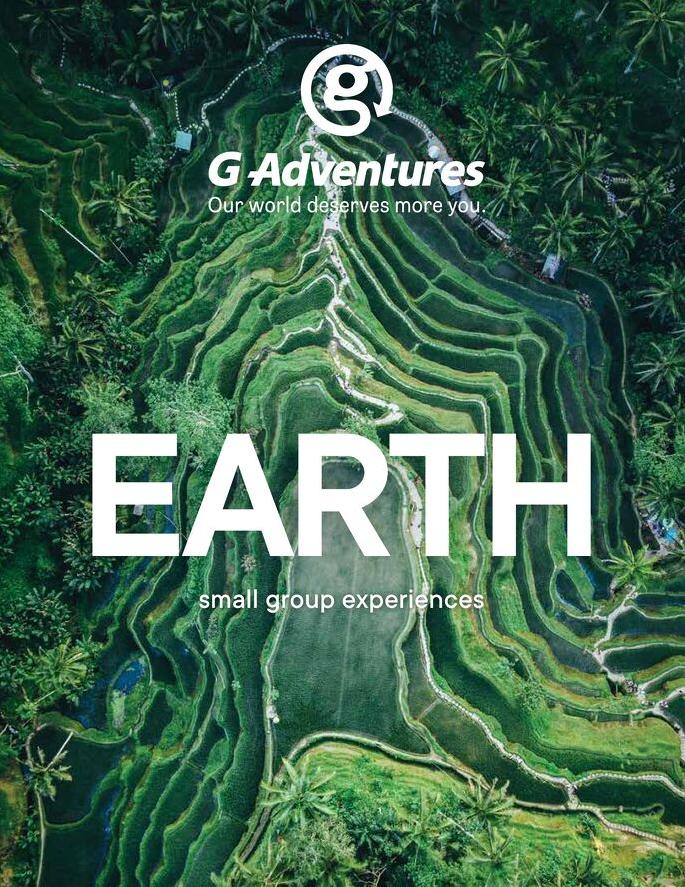 Link to Digital G Adventures - Earth Brochure