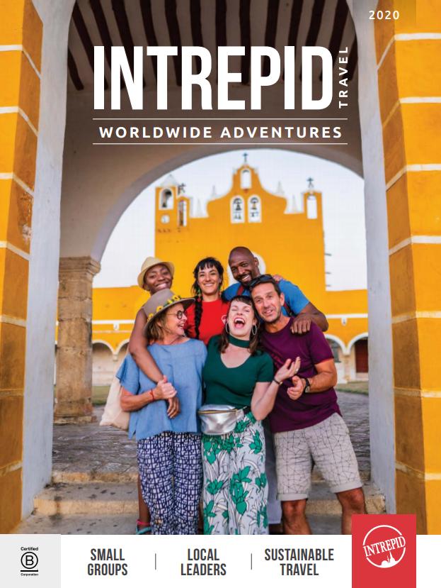 Digital Brochure for Intrepid Travel Worldwide Adventures