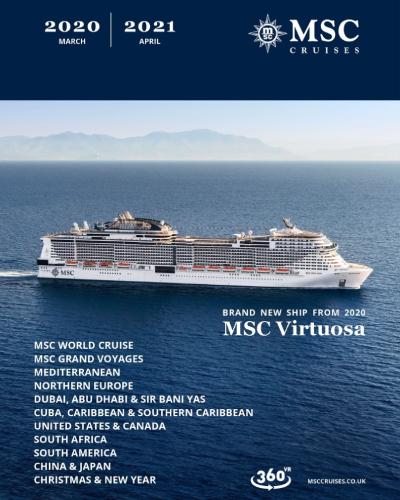 MSC Cruise Digital Brochure